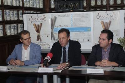 De izq. a dcha.José Luis Caravaca, Eulalio Fernández y Juan de Dios Torralbo