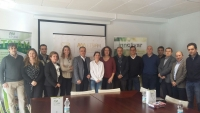 Foto de familia de participantes en la Asamblea de la Conferencia de directores celebrada en Córdoba
