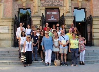 Foto de familia de participantes en la jornada técnica celebrada en el Rectorado