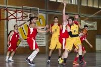 Imagen de archivo de un encuentro de la UCO de baloncesto masculino en los CAU
