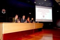 Reunión en el Rectorado sobre la Prueba de Evaluación de Bachillerato para acceso a la Universidad