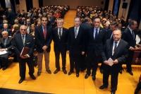 De  izquierda a derecha, Joaquín Criado, José Antonio Nieto, José Peña, Benito Valdés, José Carlos Gómez Villamandos y Aniceto López