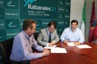 De izq. a dcha. Mariano Chacón, Juan Ramon Cuadros y Fernando Chacón