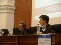 De izq a dcha, Eduardo Moyano y Fernando Garrido