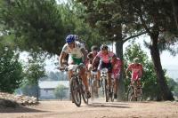 Un momento de la prueba de bicicleta de montaña
