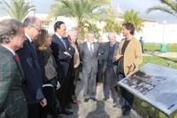 Inauguración de la intervención sobre los 60 años de Rabanales