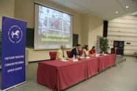 De izqda. a dcha., Francisco Castejón, José Carlos Gómez Villamandos, Rosario Moyano y Ana Muñoz