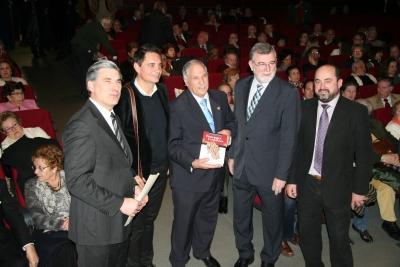 De izq a dcha, Fernando López Mora, Rafael Cremades, Ladislao Rodriguez, Jose Manuel Roldán y Manuel Torres