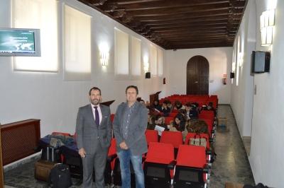 Presentación del Bufete Garrigues en la Facultad de Derecho y CCEE. y EE.