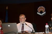Jose Manuel Roldán durante su intervención