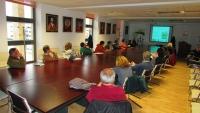 Un momento de la sesión informativa del Proyecto Participativo sobre Biodiversidad