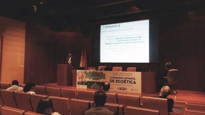 Antonio Gomera, Coordinador del Servicio de Protección Ambiental (SEPA), en un momento de la comunicación.