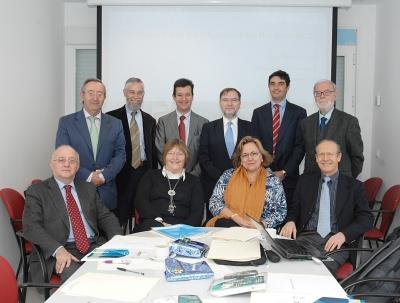 Miembros del Consejo Científico Externo y equipo de Dirección del IMIBIC