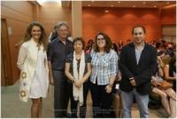 De izq a dcha Mª Elena Gómez, Jürgen van Buer, Mercedes Osuna ,Cristina Huertas y Miguel Agudo
