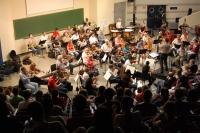 Un momento del concierto