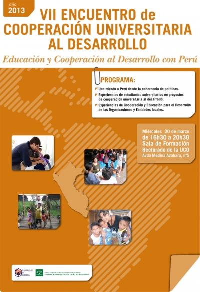 VII Encuentro de Cooperación Universitaria al Desarrollo