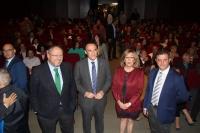 De izqda. a dcha., Manuel Torralbo, José Carlos Gómez Villamandos, Julieta Mérida y Álvaro Martínez