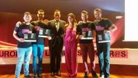 Imagen de los finalistas durante la gala final del año pasado