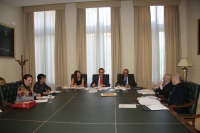 Un momento de la reunión del Comité Ejecutivo de los Premios Averroes