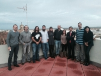 Imagen e grupo con los galardonados en las distintas modalidades