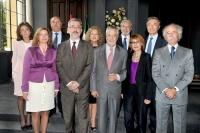 Titulares de los Consejos Sociales con el presidente de la Junta