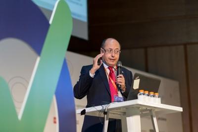 Antonio Cubero Atienza durante su intervención en el Congreso Prevencionar