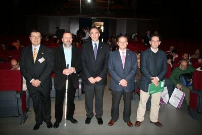 De izq a dcha, Francisco Padilla,Francisco Cobos, Jose Carlos Gómez,Rafael Gómez y Pablo Soto
