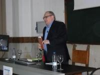 Tomás Valladolid durante su conferencia