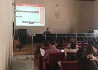Presentación del proyecto Ingenios en Ruta durante la jornada 'ComCiRed'.
