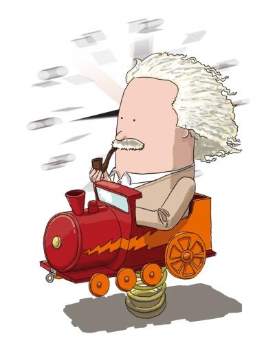 Ilustración de Calvichis' para el certamen Relativiza