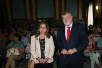 Eva Vázquez y José Manuel Roldán
