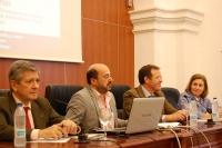 DE izq. a dcha. Enrique Barón, Manuel  Torres, Eulalio Fernández y Maria Dolores Muñoz