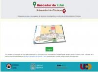 La Universidad de Córdoba lanza un buscador de rutas para facilitar el acceso a sus espacios