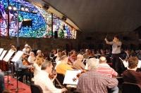 Un momento del concierto de la Orquesta de Córdoba en Rabanales