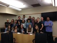 Estudiantes de la UCO junto a compañeros de la Virginia Commonwealth University