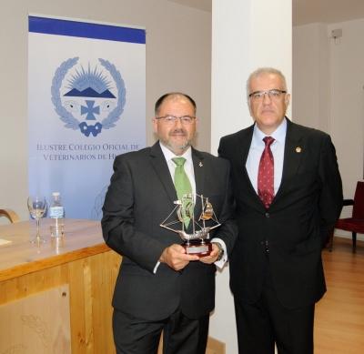 De izquierda a derecha, Librado Carrasco y Fidel Astudillo.