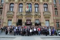 Foto de familia de participantes en la Conferencia de directores de Escuelas de Doctorado