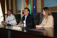 De izquierda a derecha, Carlos Márquez, José Carlos Gómez y Carmen Prado