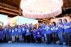 Voluntarios cordobeses en Madrid