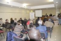 Un momento de la apertura de curso de la Cátedra Intergeneracional en Castro del Río.