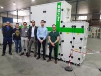 Imagen de los componentes del equipo de investigación de la UCO y de ANDALTEC y del personal de la empresa KEYTER.