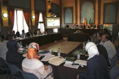 Vista general de la Sala Mudéjar en la inauguración del encuentro