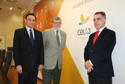José Carlos Gómez, José Manuel Roldán y José Antonio Cristóbal
