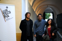 De izq a dcha: Pablo Rabasco, Pablo García Casado y Mercedes Álvarez