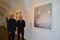 De izquierda a derecha, José Álvarez y Emilio Pemjean