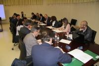 Un moneto de la reunión de la Comisión de Programación del CAU