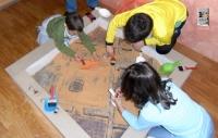 La exposición reservará un espacio para los talleres infantiles