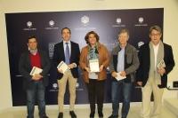 De izquierda a derecha, Juan José Lanz, Blas Sánchez, Carmen Balbuena, Jacquez Ancet y Juan Pastor en la presentación de las jornadas.
