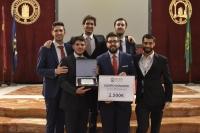 El equipo de la UCO que se ha proclamado ganador del torneo