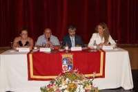 Un momento de la inauguración oficial de Fons Mellaria 2010